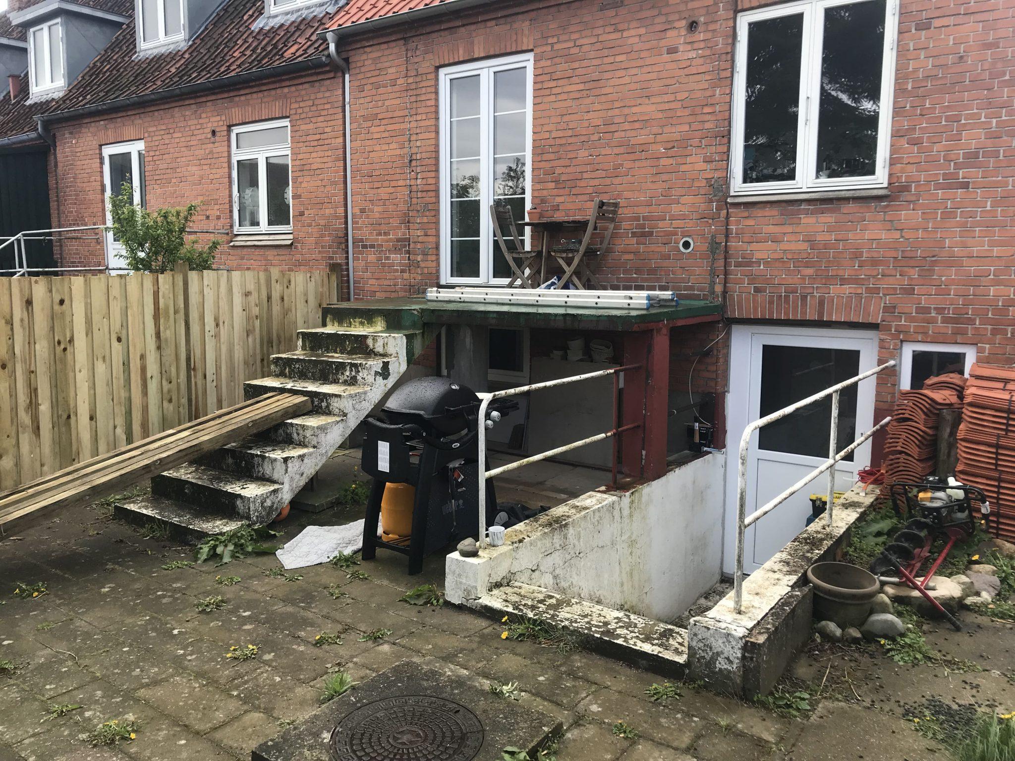 Træterrasse Odense